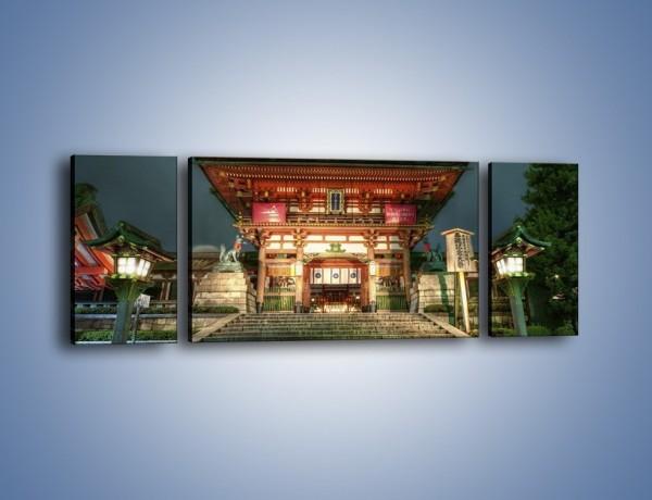 Obraz na płótnie – Świątynia w Kyoto – trzyczęściowy AM327W5