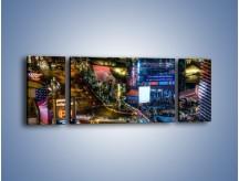 Obraz na płótnie – Cosmopolitan of Las Vegas – trzyczęściowy AM577W5