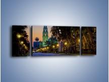 Obraz na płótnie – Balboa Park w San Diego – trzyczęściowy AM609W5