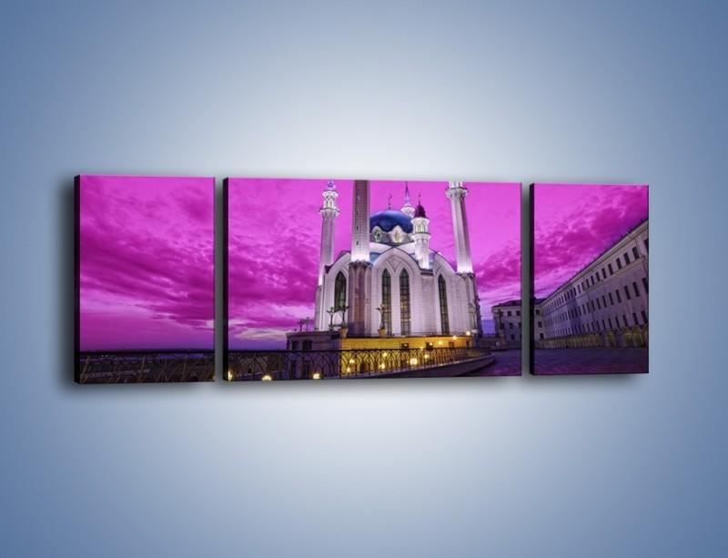 Obraz na płótnie – Meczet Kul Szarif – trzyczęściowy AM642W5