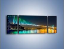 Obraz na płótnie – Most Bosforski w Turcji – trzyczęściowy AM654W5