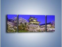 Obraz na płótnie – Zamek Yoshida-Kōriyama – trzyczęściowy AM676W5