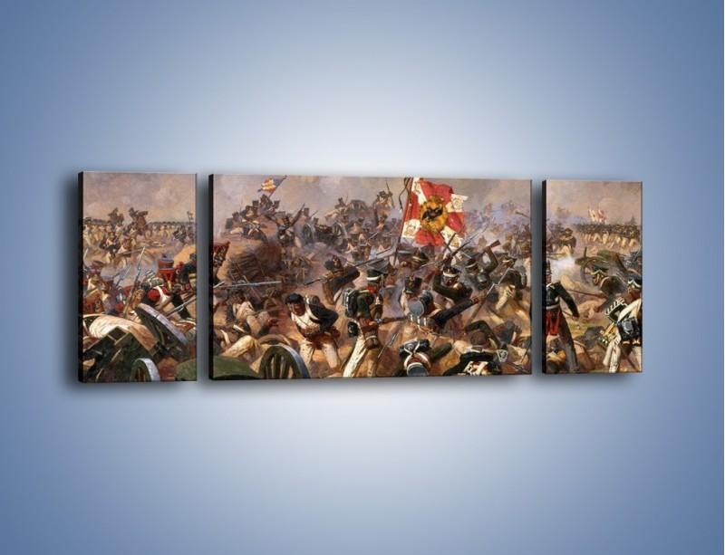 Obraz na płótnie – Wojna i jej skutki – trzyczęściowy GR133W5