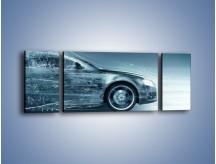 Obraz na płótnie – Auto z prędkością światła – trzyczęściowy GR264W5