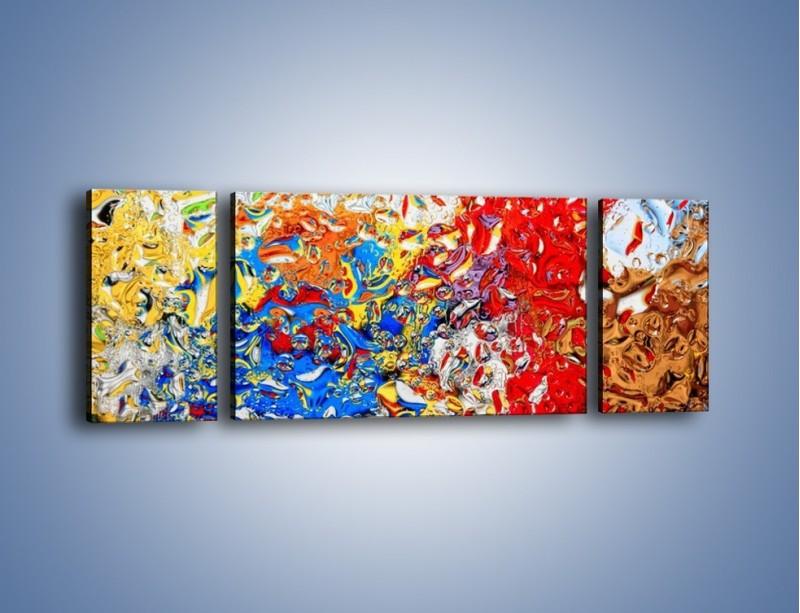 Obraz na płótnie – Każdy kolor coś znaczy – trzyczęściowy GR407W5