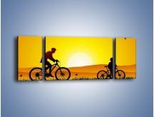 Obraz na płótnie – Bezcenny czas z synem – trzyczęściowy GR414W5