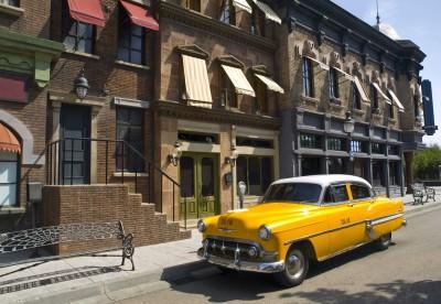 Amerykańska taksówka z lat 50 - TM164