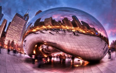 Cloud Gate w Chicago - AM352