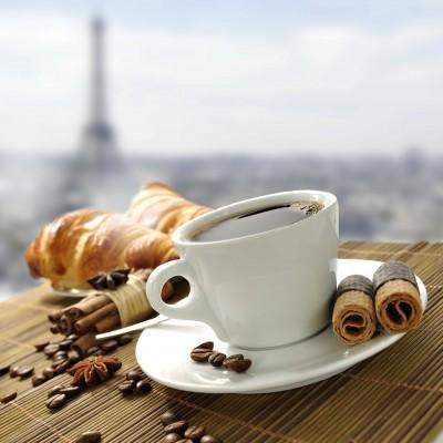 Francuski poranek z kawą - JN383