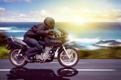 Jazda motocyklem o wschodzie słońca - TM147