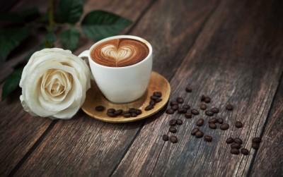 Kawa z różą - JN319