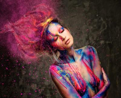 Kobiece kolory na ciele - L340