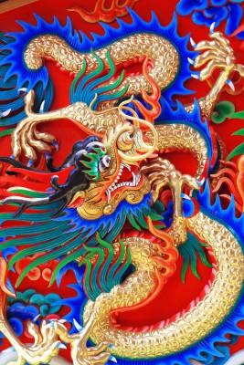 Kolorowe potwory z bajki - O093