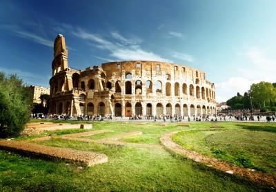 Koloseum w piękny dzień - AM273