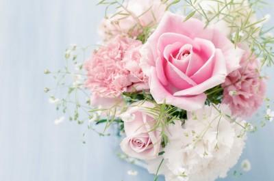 Kwiaty z ślubną historią - K494