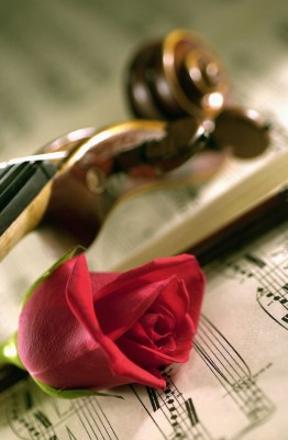 Z miłości do muzyki i kwiatów - K910