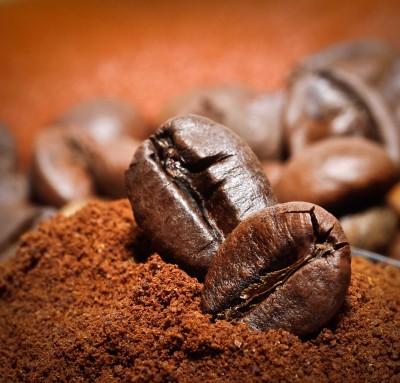 Zakopane ziarna kawy - JN563