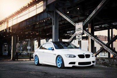 BMW E92 M3 Coupe pod starym mostem - TM088