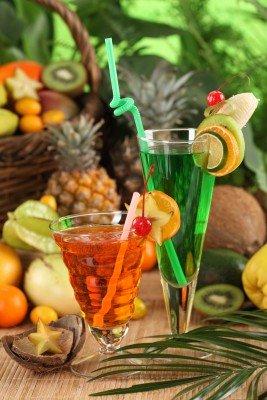 Kolorowe soki z świeżych owoców - JN060