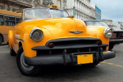 Kubańska taksówka cabrio - TM222
