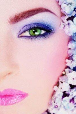 Oko w mocnym kolorze - L097