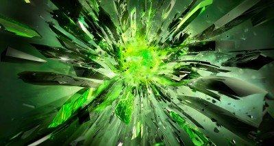Ostre kawałki zieleni - GR422
